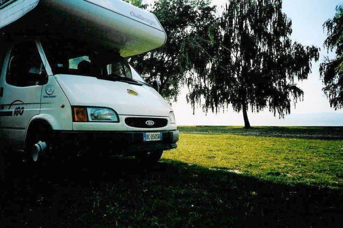 Camper sul Lago Balaton