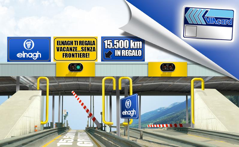 ELNAGH TI APRE LE AUTOSTRADE D'ITALIA