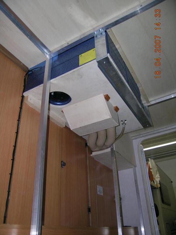 Installazione accessori ippocamper - Aria condizionata canalizzata pro e contro ...