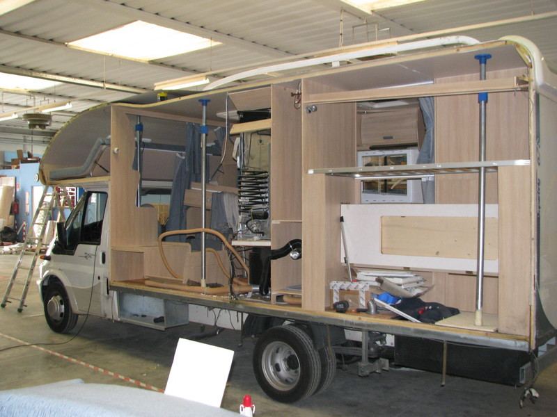 Riparazioni strutturali ippocamper for Arredamento camper