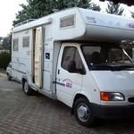 Vista esterna del veicolo usato di proprietà del cliente, su cui è stato installato il sistema easyRail.