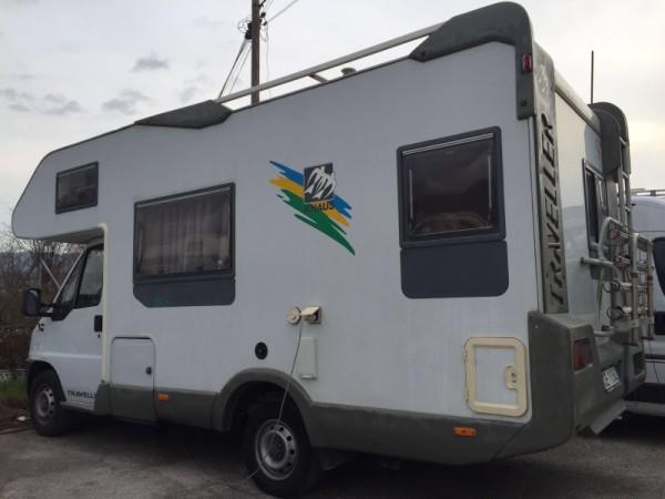 Mansardato Knaus Traveller 595